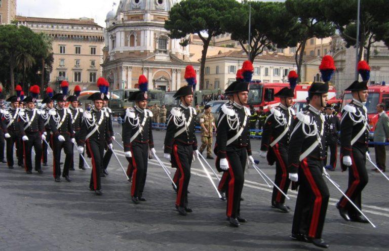 concorso per l'arma prefissata dei carabinieri